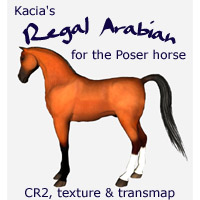 Regal Arabian Poser Horse Morphs
